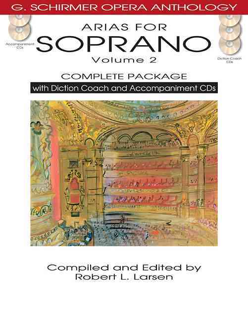 Arias for Soprano Volume 2 Complete Package By Larsen, Robert L. (EDT)